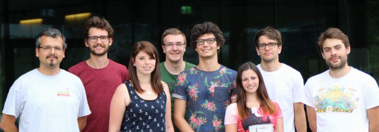 Dein ÖH-UMIT Team (Bild: Stand SS 2017)